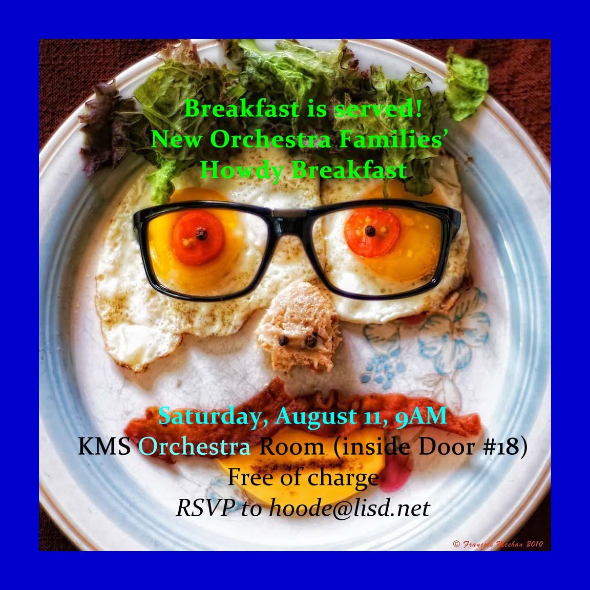 1819 Newcomers Breakfast Invite